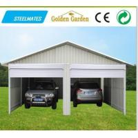 Wholesale out door steel garage with low price from china suppliers