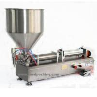 Wholesale china 10-300ml Full-Pneumtic Filling Machine Single Head For Peanut Butter Or Paste Thick Liquid from china suppliers
