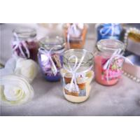 Clear Scented Glass Candle