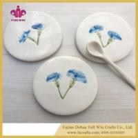Wholesale Ceramic Coaster Colorful or Blank Table Coaster for Cup Holder with Cork Base from china suppliers