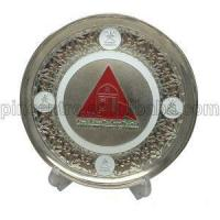 Silver Trophy Plates Stand