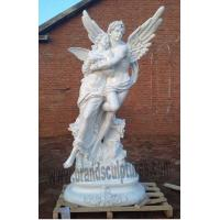 Wholesale Large Garden Statues For Sale Loving Fiberglass Angel Statues  From China Suppliers