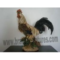 Wholesale Large Realistic Resin Cock Animal Sculpture as Yard Decor from china suppliers