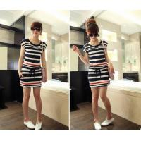 Wholesale Halife Fashion Casual Striped Dress from china suppliers