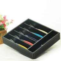 Wholesale hollow out bamboo cutlery tray from china suppliers