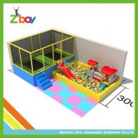 Wholesale Rectangular Kids Indoor Trampoline Bed With Soft Play From Chinese Toy Capital from china suppliers