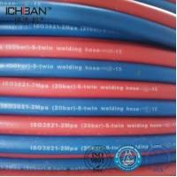 Wholesale ICHIBAN Gas Flexible Welding Cutting Twin Rubber Gas Flexible Hose from china suppliers