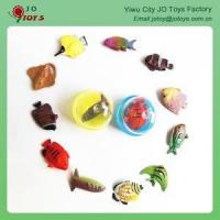 Wholesale Children Like The Cute Mini Fish With Painting Vending Machines Capsule Toys from china suppliers