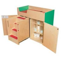 Wholesale WD21075G Green Apple Deluxe Changing Table with Safety Steps from china suppliers
