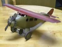 Buy cheap 1930s Prewar Antique Classic Usa Propeller Plane Bomber Airplane Tin Steel Toy from wholesalers