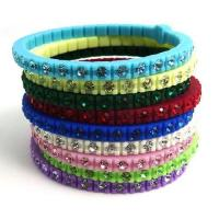 Wholesale OPS silicone diamond bracelet from china suppliers