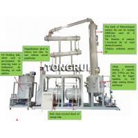 Wholesale Environment 90% high yield Used Oil Pyrolysis Distillation into Diesel oil recycling equipment from china suppliers