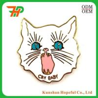 Wholesale High Quality Eco-friendly Custom Cloisonne Hard Enamel Lapel Pin from china suppliers