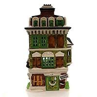 Wholesale Department 56 House FLAT of EBENEZER SCROOGE Porcelain Dickens Village Retired 55875 from china suppliers