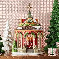 Wholesale Department 56 North Pole Village 40th Anniversary Gazebo Building 4050966 New from china suppliers