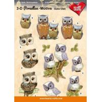 Wholesale 3D Decoupage sheet - Porcelain Owls from china suppliers