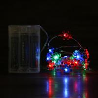 Wholesale Sunflowers led shaped copper string lights from china suppliers