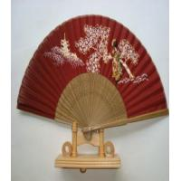 Wholesale elegant silk bamboo hand fans from china suppliers