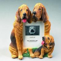 Dog Picture Frame - Bloodhound