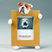 Dog Picture Frame - Bulldog, Small