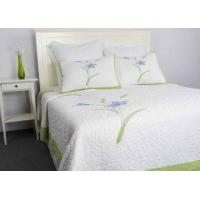 Wholesale Freestyle Queen Size Bedspreads ,3pcs Embroidery Patchwork Quilt Bedspread from china suppliers