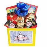 Wholesale All Star Mens Gift Basket with Puzzle Books and Snacks from china suppliers