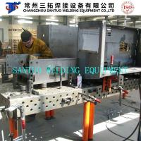 Application Case Welding table for Cabinet Frame Welding With Fixtures and Jigs