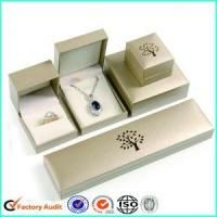 Wholesale Beige Jewelry Gift Box Packaging from china suppliers