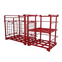 Wholesale Movable and Convenient Flexible Powder-coated Stacking Rack from china suppliers