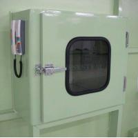 Hospital Cleaning Rooms Stainless Steel Electronic Interlock Pass Box with UV Lights Equipment