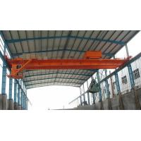 Wholesale QZ Type Double Girder Electric Grab Bucket Bridge Crane to Lift Scrap from china suppliers