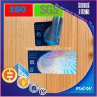 Wholesale Permanent And One Off Laser Anti-counterfeiting Sticker from china suppliers