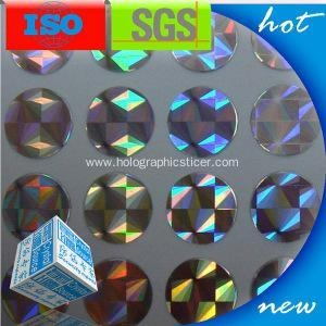 Quality Anti-Counterfeit Holographic Sticker Label for sale