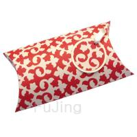 Red Pattern Pillow Box