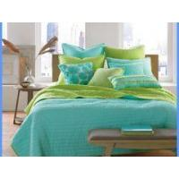 Wholesale Elegent indian fitted fancy cotton quilted hotel bedspreads from china suppliers