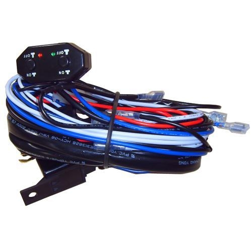 dual xhdr6435 wire harness dual xr4115 wiring harness dual color light bar wiring harness switch of item 43401784