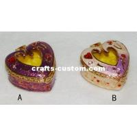 Wholesale Pewter Heart-shaped Jewelry Box from china suppliers