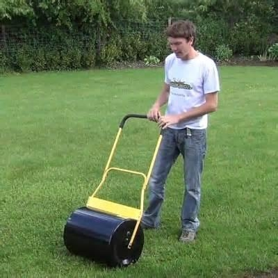 Garden tool lawn roller on sale water and sand of huamaochina for Lawn and garden tools for sale