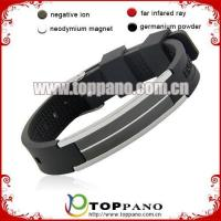 Wholesale cheap silicone ion balance bracelet from china suppliers