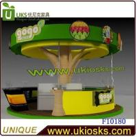 Wholesale 4*4 meters round kiosk with nice ceiling from china suppliers