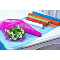 Flower Wrapping Materials organza by the roll Dot Foamed Organza Rolls