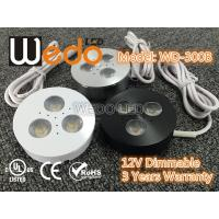 Wholesale WD-300A 12V 3W LED Cabinet Light / LED Puck Light with CE cUL UL Certified from china suppliers