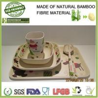 Wholesale Christmas's series bamboo fibre resturant and home dinner set from china suppliers