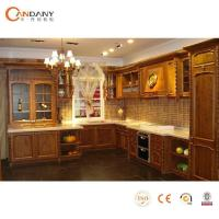 2015 Oak Solid Wood Kitchen Cabinets Solid Wood Kitchen Wholesale