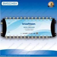 Built-in power amplifier less signal transmission failure 2 in 24 out satellite multiswitch