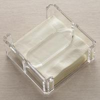Wholesale Acrylic Counter Displays Lucite Clear Napkin Holder from china suppliers