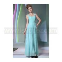 A line floor-length changeable silk prom dress & new fashion quinceanera dress