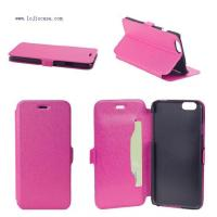 Buy cheap PU leather case for iphone 6 Item:LJ-IP603 from wholesalers