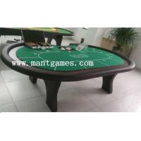 Wholesale high quality hot sellling casino poker gambling game table for 10 players type T006 from china suppliers