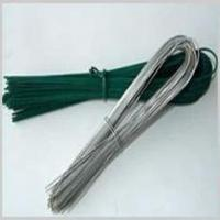 Zinc Coated Electro-Galvanized Iron Wire SAE1006 / SAE1008 U Type Wire